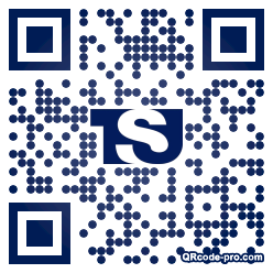 QR code with logo 2dx80