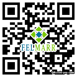QR code with logo 2eHB0