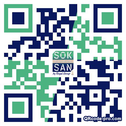 QR code with logo 2fIR0