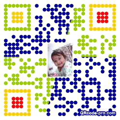 QR code with logo 2fRb0