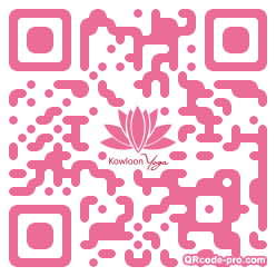 QR code with logo 2fT80