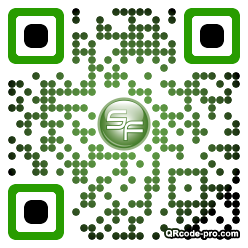 QR code with logo 2fT90