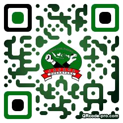 QR code with logo 2fTm0