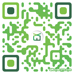 QR code with logo 2flu0