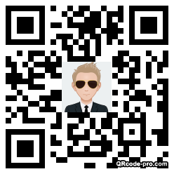 QR code with logo 2foS0