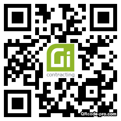 QR code with logo 2gEm0