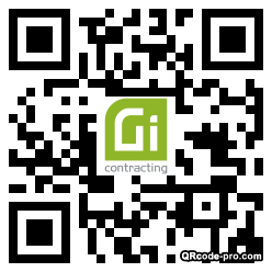QR code with logo 2gIS0