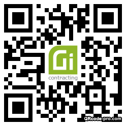 QR code with logo 2gP50