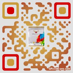 QR code with logo 2gib0