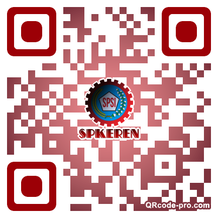 QR code with logo 2h8g0
