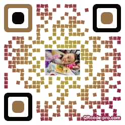 QR code with logo 2hTO0