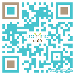 QR code with logo 2hW00