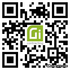 QR code with logo 2hcp0