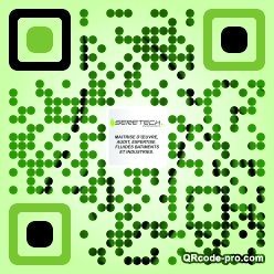 QR code with logo 2heB0