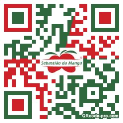 QR code with logo 2hir0