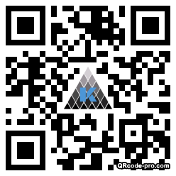 QR code with logo 2hj40