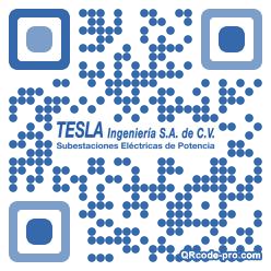 QR code with logo 2i4p0