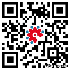 QR code with logo 2iPX0