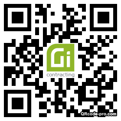 QR code with logo 2iRC0