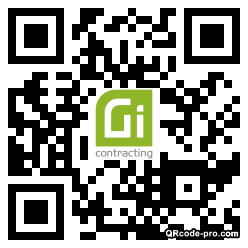 QR code with logo 2iWR0