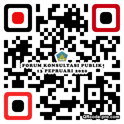 QR code with logo 2jY80