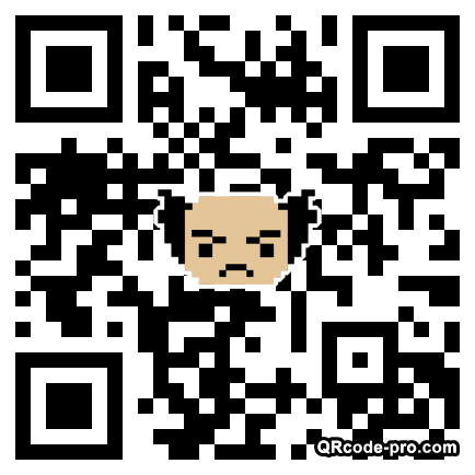 QR code with logo 2kV90