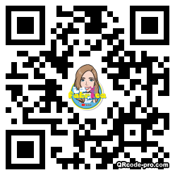 QR code with logo 2kdF0