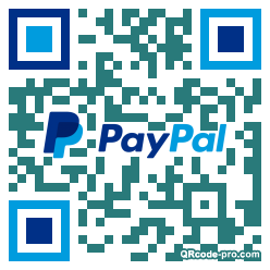 QR code with logo 2ktp0