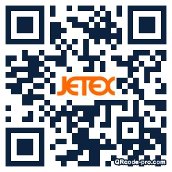 QR code with logo 2l3D0