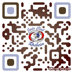 QR code with logo 2l8Q0