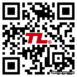 QR code with logo 2lTB0