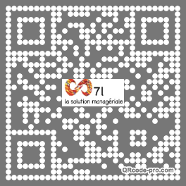 QR code with logo 2mFB0