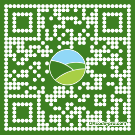 QR code with logo 2mHI0