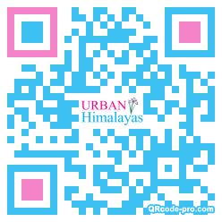 QR code with logo 2mL50