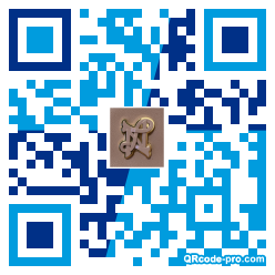 QR code with logo 2mMD0