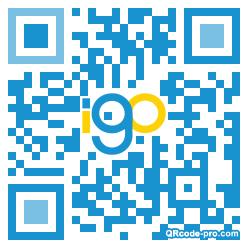QR code with logo 2mMX0