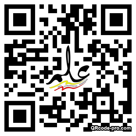 QR code with logo 2mcm0