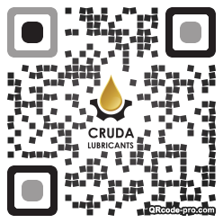 QR code with logo 2mza0