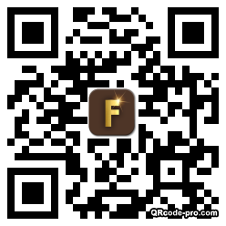 QR code with logo 2nEV0
