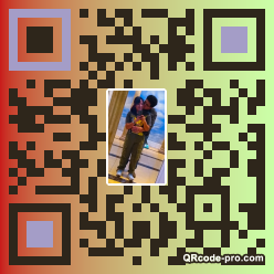 QR code with logo 2nQk0