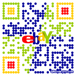 QR code with logo 2nfe0