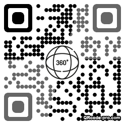 QR code with logo 2nsg0