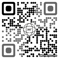 QR code with logo 2nss0