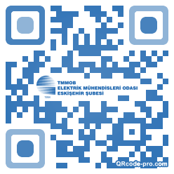 QR code with logo 2nyc0