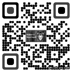 QR code with logo 2oFB0