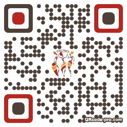 QR code with logo 2oNe0