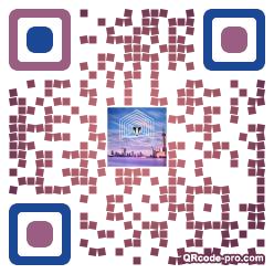 QR code with logo 2ovr0