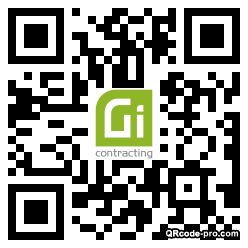 QR code with logo 2p0a0