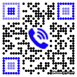 QR code with logo 2p590
