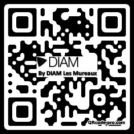 QR code with logo 2pBX0